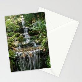 Waterfall Napier botanic gardens Stationery Cards
