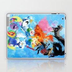 Battle Time!! - compilation Laptop & iPad Skin