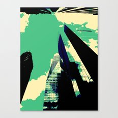 Clouds on the Side Canvas Print