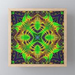 n3 Neu Psychedelic Framed Mini Art Print