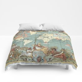 The British Empire 1886 Comforters