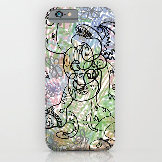 Anymanimals+Whatlifethrowsatyou    Nonrandom-art1 iPhone & iPod Case