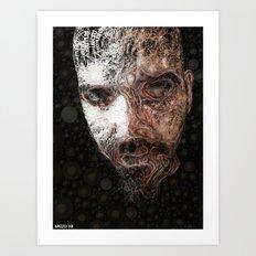 Luke_Beard Art Print