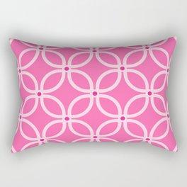 Trellis Pink Rectangular Pillow