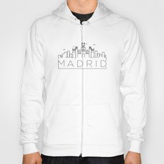 Linear Madrid Skyline Design Hoody