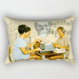 Death Accordion Rectangular Pillow