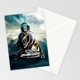 astrozen  |  zen buddhist finding true self Stationery Cards