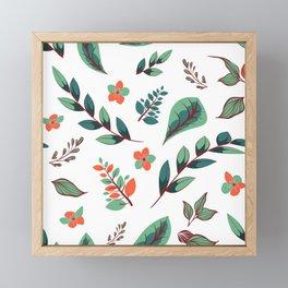 Flower Design Series 3 Framed Mini Art Print