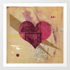 Valentine's Day Heart I Art Print