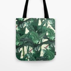 Banana Leaf Pattern 2 Tote Bag