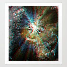 3d Theory Art Print