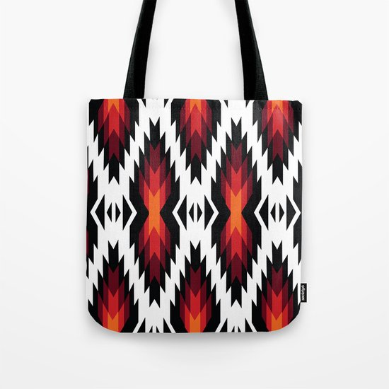 American Native Pattern No. 13 Tote Bag