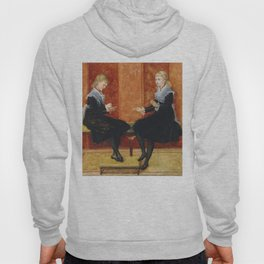 "Walter Crane ""Violet and Lily, the daughters of Edmund Routledge"" Hoody"