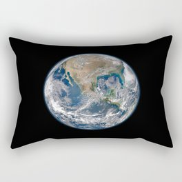 Earth Rectangular Pillow