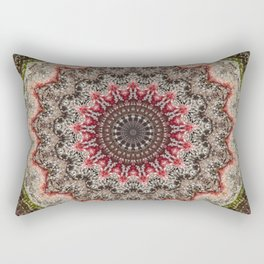 Trichome Crystal Portal Rectangular Pillow