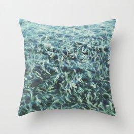 Water Garden Throw Pillow