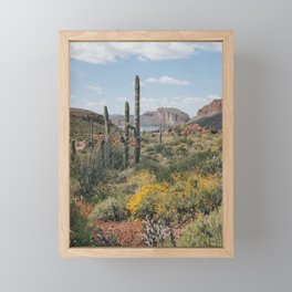 Arizona Spring Framed Mini Art Print