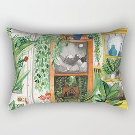 The Jungle Room Rectangular Pillow