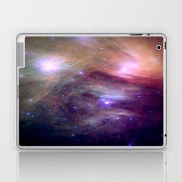 Galaxy : Pleiades Star Cluster NeBula Laptop & iPad Skin