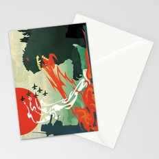 Tokyo or Bust Stationery Cards
