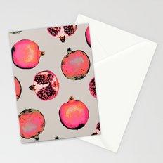 Pomegranate Pattern Stationery Cards