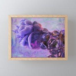 Sunset Rose Framed Mini Art Print