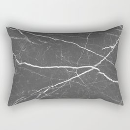 Gray marble abstract texture pattern Rectangular Pillow