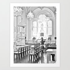 WHITEOUT : Prayers Art Print