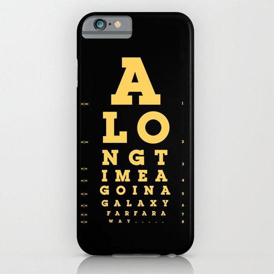 Jed Eye Chart iPhone & iPod Case