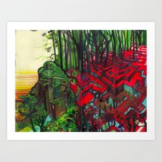PRIMA MATERIA Art Print