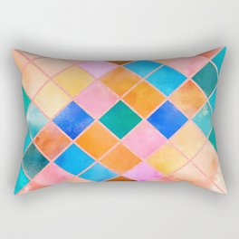 Vivid Pattern XI Rectangular Pillow