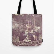 (our) Nature Destroyed (our) Home Tote Bag