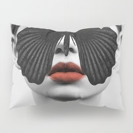 BLACK BUTTERFLY Pillow Sham