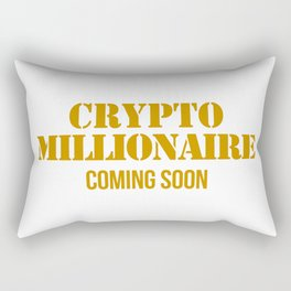 CRYPTO MILLIONAIRE Rectangular Pillow