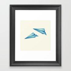 High Flyer | Origami | Simplified Framed Art Print