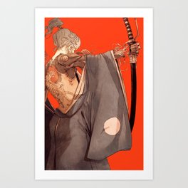 Mantle Art Print