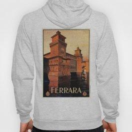 Castello Estense Ferrara Italy Hoody