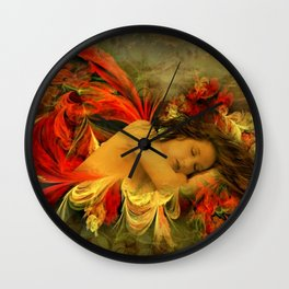 Serenity Dreams Wall Clock