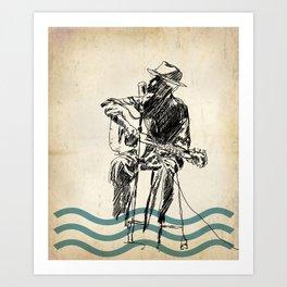 Blooze Art Print