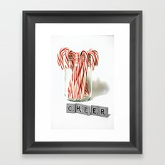 Christmas Cheer Framed Art Print