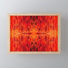 Lava Squid by Chris Sparks Framed Mini Art Print
