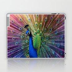 the peacock Laptop & iPad Skin