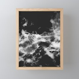 Waves of Marble Framed Mini Art Print