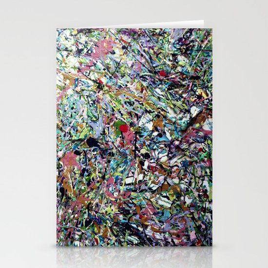 After Pollock Stationery Cards