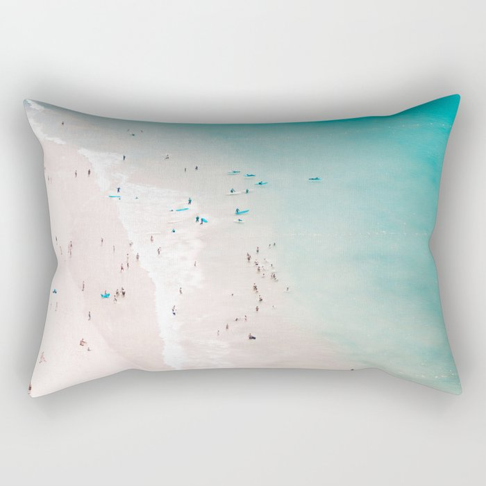 beach - summer love II Rectangular Pillow