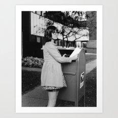 Letter Mail Art Print