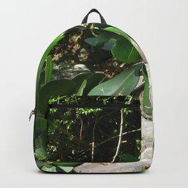 Watercolor Human Impact, Aesthetic Damage 04, Graffitti  Backpack