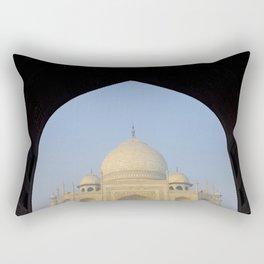 The Taj Mahal, India Rectangular Pillow