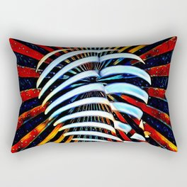 6879-LB Cosmic End in Female Form Rectangular Pillow