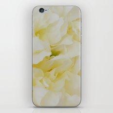 Cream peony iPhone & iPod Skin